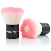 Fashion 1 pcs makeup pink make up brushes professional maquiagem maquillaje Blush Brush Mushroorn Makeup Tools With Case