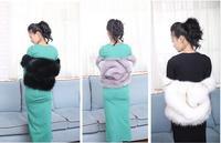Hot Customized New 2014 Autumn Fashion Short Slim Faux Fox Fur Vest For Women Fur Vests Ladies fur waistcoat Free shipping B1427