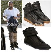 Maison martin margiela Winter Autumn MMM Men Boots Genuine Leather Waterproof Oxford Kanye West Fashion Sneakers Shoes EU 38-47(China (Mainland))