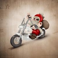 Merry Christmas series,paper car air freshener -Santa Claus