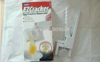 free shipping 48pcs/lot Peel & Separate Eggs Perfectly Handheld Egg Cracker/egg ez cracker/easy cracker