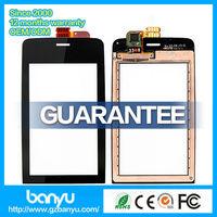 (Banyu free shipping) Guangzhou supplier top quality black replacement digitizer touch screen for nokia N308