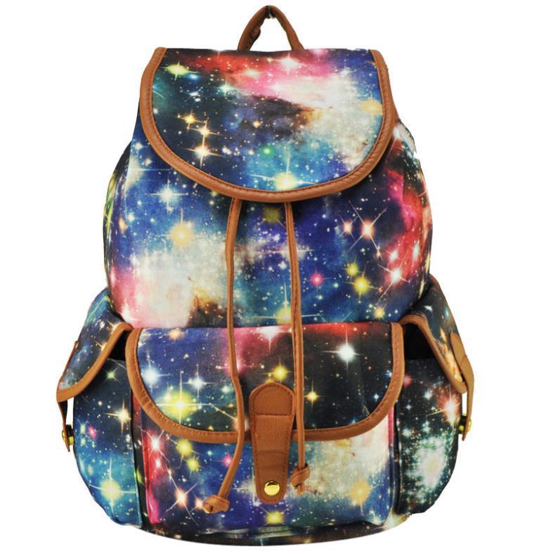 2014 autumn new style women canvas backpacks fashion print women's school bags rucksack high qaulity cheap bolsa feminina(China (Mainland))