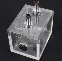 Cheap Sale! 5Pcs/lot Computer CPU Water Block Water Cooling Radiator 200ml Acrylic Water Tank CoolersDropshipping