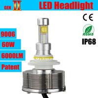 DHL shipping 2X 30W car LED headlight 9006/Hb4 auto LED conversion kit 3000LM 12V 24V for auto headlamp bulb LED motor kit 9006