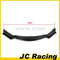 JC STyle  4 series F32 carbon fiber front bumper lip spoiler  FOR BMW 4 series standard bumper non mtech bumper