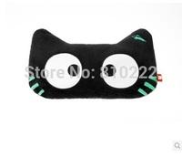 Cute Cat Car Pillow  Car Cushion Headrest Neck Pillow  for Car -Cat with noctilucent eye