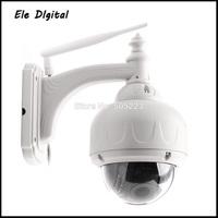 5pc/lot dhl free High quality wifi wireless HD IP cctv camera with 1280x720 (Mega Pixels)