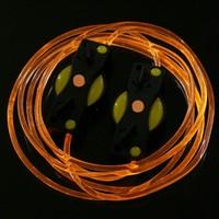 LED Light Up Shoes Shoelaces Luminous Shoestring Yellow Light