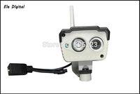 1pc/lot china post free High Definition Cctv Camera Security Camera H.264 P2P IP Wifi Waterproof/Vandal-proof Bullet Camera
