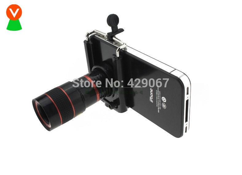 Universal mobile téléphones photo 8 vezes télescope monoculaire télescope livraison gratuite(China (Mainland))