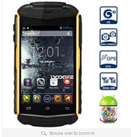 "New DOOGEE TAITANS DG150 3.5"" IPS HVGA Screen MTK6572 Dual Core Android 4.2 512MB+4GB GPS 3G waterproof Mobile Phone Black+Green"