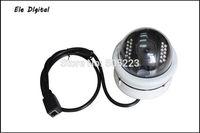 5pc/lot dhl free Best selling Dome Vandal-proof Mini HD Digital Video Cctv Camera Megapixel