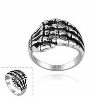 316L titanium steel ring for Men jewelry 2014 New fashion claw pattern male vintage rings high quality GMR005