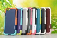 New Walnutt 2nd Trio Anti-Skid Shock Proof Hybrid TPU Gel Case Cover For iPhone 6 6G 4.7 inch 100pcs/Lot