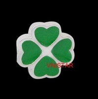 Free airmail! 60pcs of  Vnistar Floating locket charms, single sided clover charm, shamrock charm, sold individually