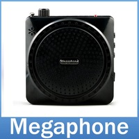 PM100 Portable Loudspeaker Voice Amplifier  Booster  Multifunction Megaphone with Mic For Teaching Tour Guide Sales Promotion