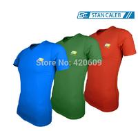 Fashion Mens Compression Tops High Elastic Soft Compress Tights Men's T Shirt Quick Dry Sport Shirts Brand Gym Bodybuilding