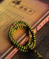 T03 Ebony 6mm Wood Beads 108 Buddha Bracelets Men / Women Long Bangle Religion Gift Wholesale Tibet Jewelery