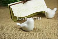 wedding favors and gifts Love birds ceramic salt and pepper shaker 2PCS/SET