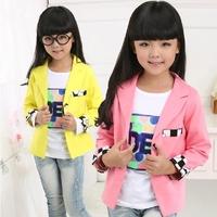 Free Shipping New Autumn Fashion Children's Girl suits girls Princess coat kids jacket kids suit size 110-160
