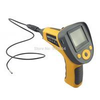 "Chinscope 99G 2.4"" TFT LCD 300KP 5X Video Inspection Tube Snake Camera Endoscope w/ TF Slot - Yellow"