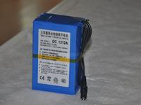 12V 12000mAh Rechargeable Li-ion Lithium Battery super Rechargeable Li-ion Battery+1A charger DC 1212A