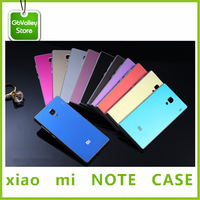 Originalxiao mi  note case cell phones  Flip Cover with One Cart Slot GbValleyStore  gifts phone case cover Freeshipping
