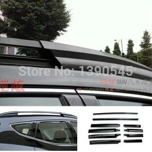 Free ship!Hyundai IX45 luggage Roof Racks carrier,1 color optional,AL material,2pcs/set,good quality!(China (Mainland))