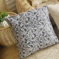 Brief european style Flannel creative 45x45cm/55cmx55cm warm grey home/office/seat/car pillow cushion cover/C7134 Free shipping