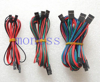 9PCS 70CM 2P 3P 4P RepRap 3D Printer Ramps 1.4 Basic Wiring jumper cable Kit wholesale