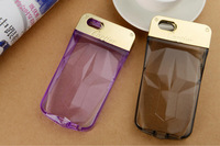 Wholesale 20pcs/lot 2014 Newest hot selling luxury case for iphone6 4.7 with light in night total 6 color Free shipping