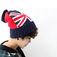 2014 New Fashion 100% Acrylic United Kindom Flag Knitting Hats Skullies & UK Beanies Casual Cap HTZZM-417