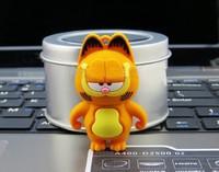 New Arrival!Cartoon Garfield model usb 2.0 memory flash stick pen drive Freeshipping 4gb/8gb/16gb/32gb