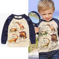 Autumn new cartoon children , boys tops, baby long-sleeved T shirt