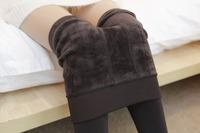 240G Thick Leggings for Women High Waist Seamless Velvet Anti-pilling Warm Winter Legging 6 Colors Factory Direct Supply