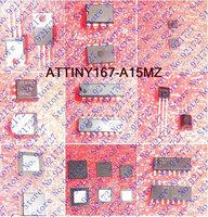 FREE SHIPPING ATTINY167-A15MZ 16K 15MHZ 32QFN ATTINY167-A1 167 ATTINY167 167-A1 ATTINY16 167-A15 3pieces