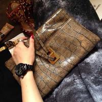 Logo 2014 Korss designer clutch famous brand desigual women clutch,magazine evening clutch purse,sac femme women messenger bag