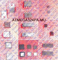 FREE SHIPPING ATMEGA324PA-MU 32K 44-QFN ATMEGA324PA 324 ATMEGA324 324P ATMEGA3 324PA 3pieces