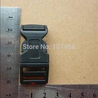 Wholesale: 200pcs/Lot KAM  Plastic Buckles Contoured Curved For Paracord Bracelets, Suit For15MM Belt (Type: M066B-15)