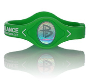 Power Energy Hologram  Power  Bracelets Wristbands Balance Ion Magnetic Therapy Fashion Silicone Bands