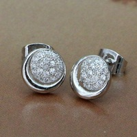 925 sterling silver earrings , 925 silver fashion jewelry , stone /cdgakuna gbvaotca #003