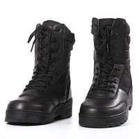 2015 Top Quality US Army Boots Genuine Leather Men Military Shoes Special Forces Combat Boots Hiking Shoes Waterproof Wearproof