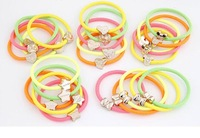 2014 New Arrival Kids Baby Accessories Children Girls Jewelry Baby Alloy Elastic Hair Bands # fthxzm_09051481