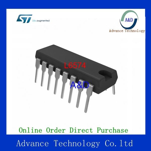 Original L6574 IC DRIVER CFL/TL BALLAST 16-DIP IC chip(China (Mainland))