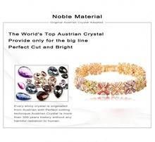 Beautiful Bracelets Radiation Shaped Flower Cubic Zircon Bracelet AAA Swiss Cubic Zirconia Diamond Female Bracelet CBR0011