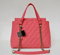 Top quality original brand vintage chain genuine caviar leather red women's fashion handbag shoulder bag free shipping wholesale