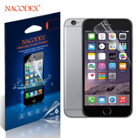 6Pcs Nacodex HD Screen Protector Guard For Apple Iphone Plus 5.5'' 5.5 Inch (6 = 3 Front + 3 Back) 100% Original