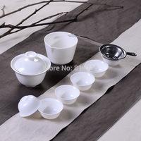 11pcs/set travel kung fu tea set chinese porcelain tea set