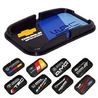 Multi-functional car Anti Slip pad by Rubber Mobile Sticky stick Dashboard Phone Shelf Antislip Mat For GPS MP3 Cell Holder